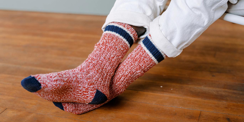 Style No. 97331 Ragg Wool Stripe Sock