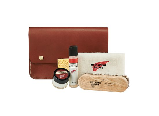 Leather Travel Care Kit product photo