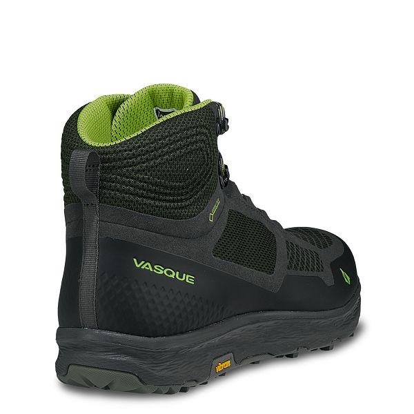 Size 11.5 US 45 EU Vasque Men/'s Breeze LT GTX Hiking Beluga // Lime Green