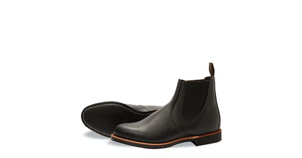Chelsea Rancher 8200 Wing Red Mens Black TXOPikZulw