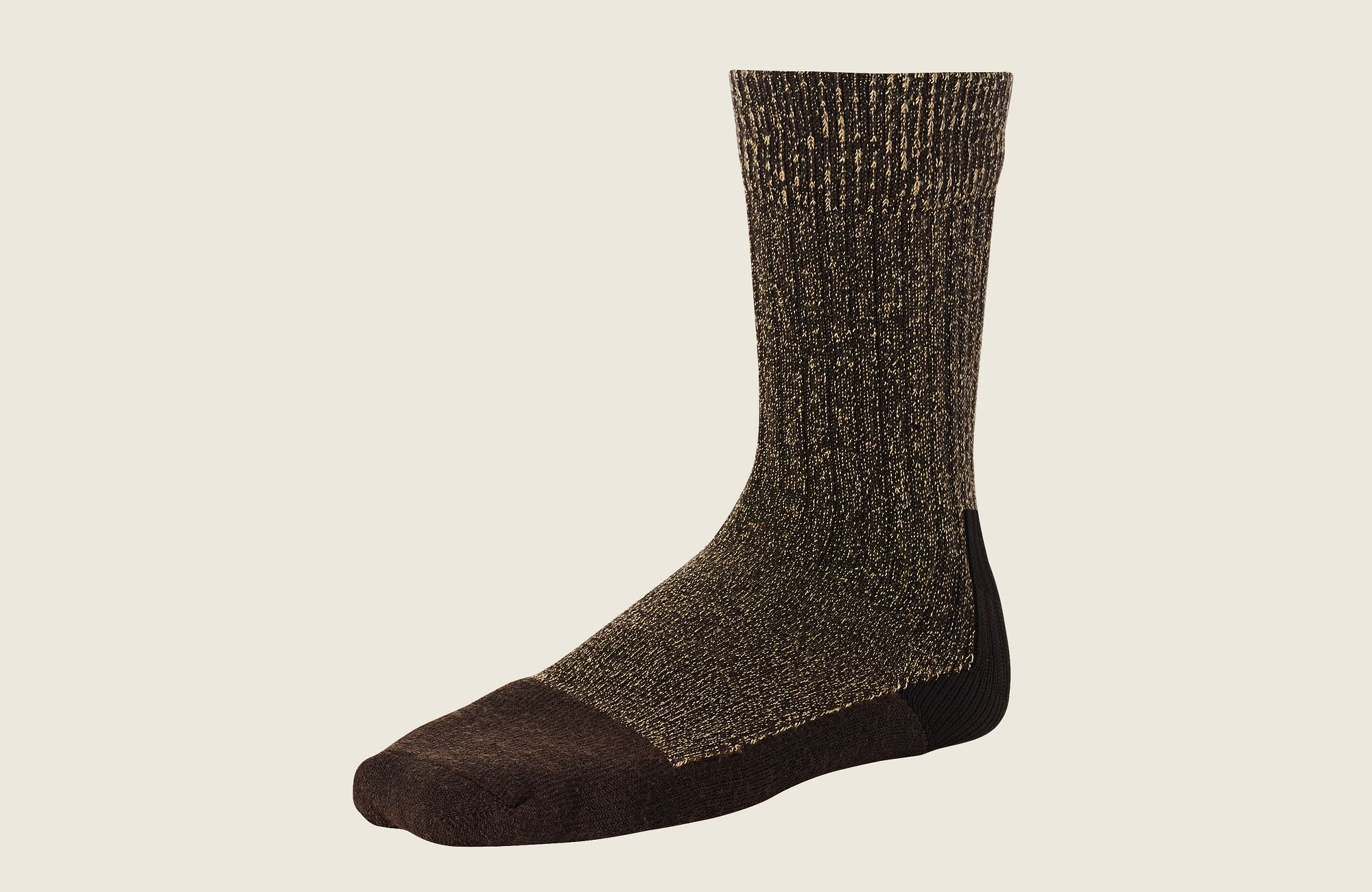 Deep Toe Capped Wool Sock image number 0