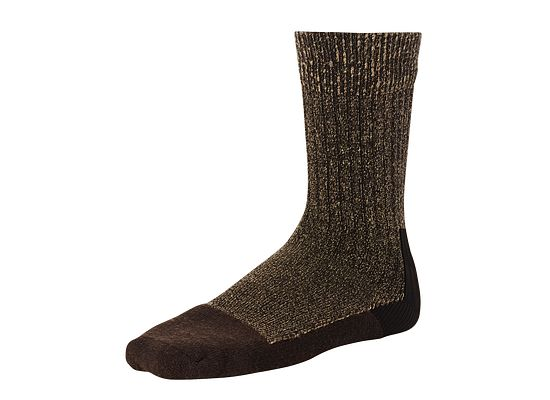 Brown Deep Toe Capped Wool Sock product photo