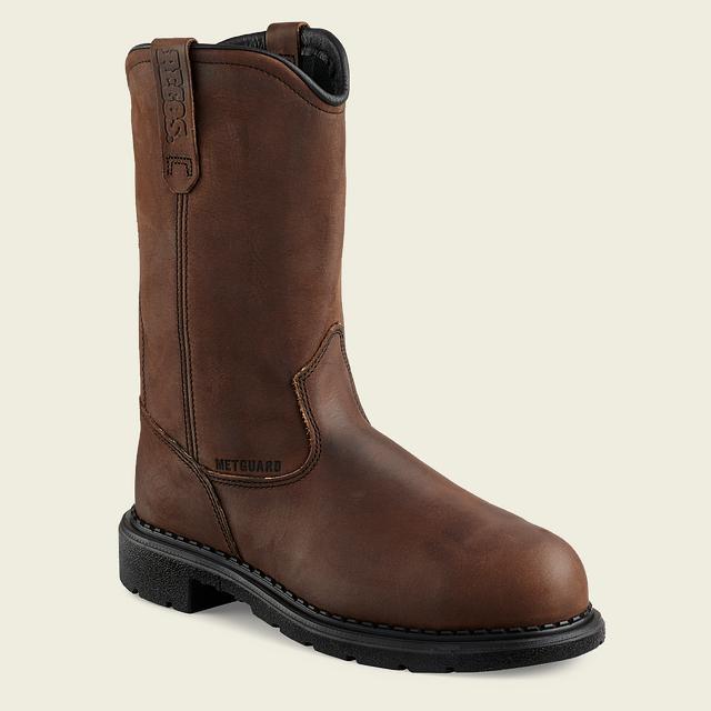 9a2687b62a460 Men's 4436 Electrical Hazard Metatarsal Guard Waterproof Steel Toe ...