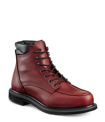 Safety Bootsamp; Business ShoesRed For Wing Employee Footwear POkn0w