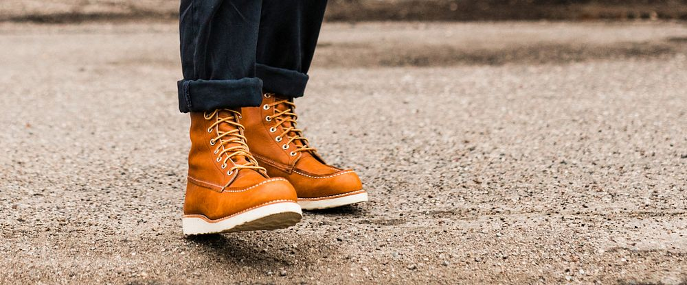 Mens 8 Inch Classic Moc Gallery Image 5
