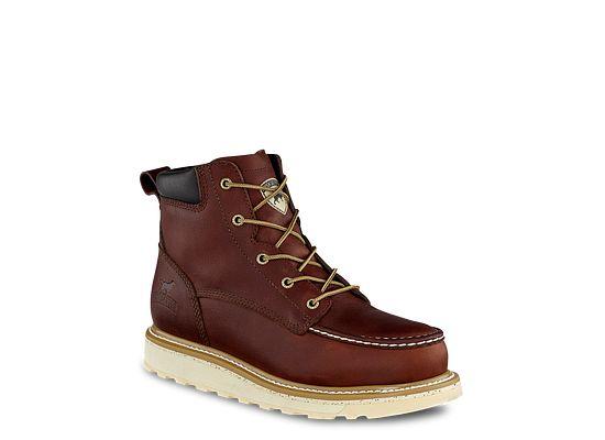 Men S Ashby 6 Inch Leather Safety Toe Boot 83606 Irish Setter Irish Setter