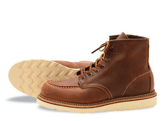 Men S 1907 Classic Moc 6 Quot Boot Red Wing Heritage