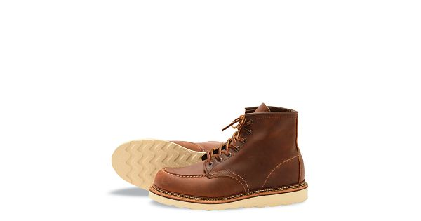 bdeca55c015 Men's Classic Moc 6-Inch Boot in Brown Leather 1907 | Red Wing Heritage