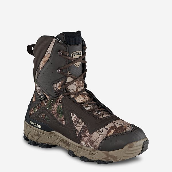 a4da9a607 Men's Vaprtrek™ LS 9-inch Waterproof 1200g Insulated Realtree® Camo Hunting  Boot 827 | Irish Setter