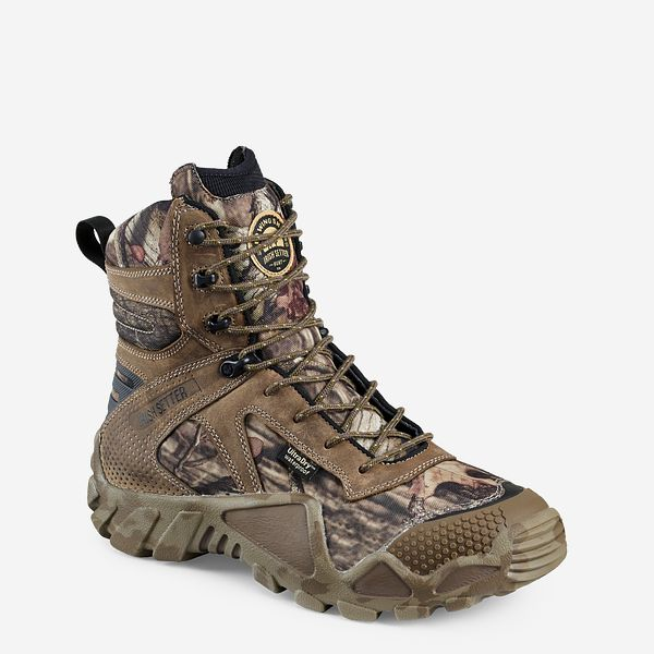 ea3e9b839183 Men s 8-inch Waterproof Leather Mossy Oak® Camo Hunting Boot 2868