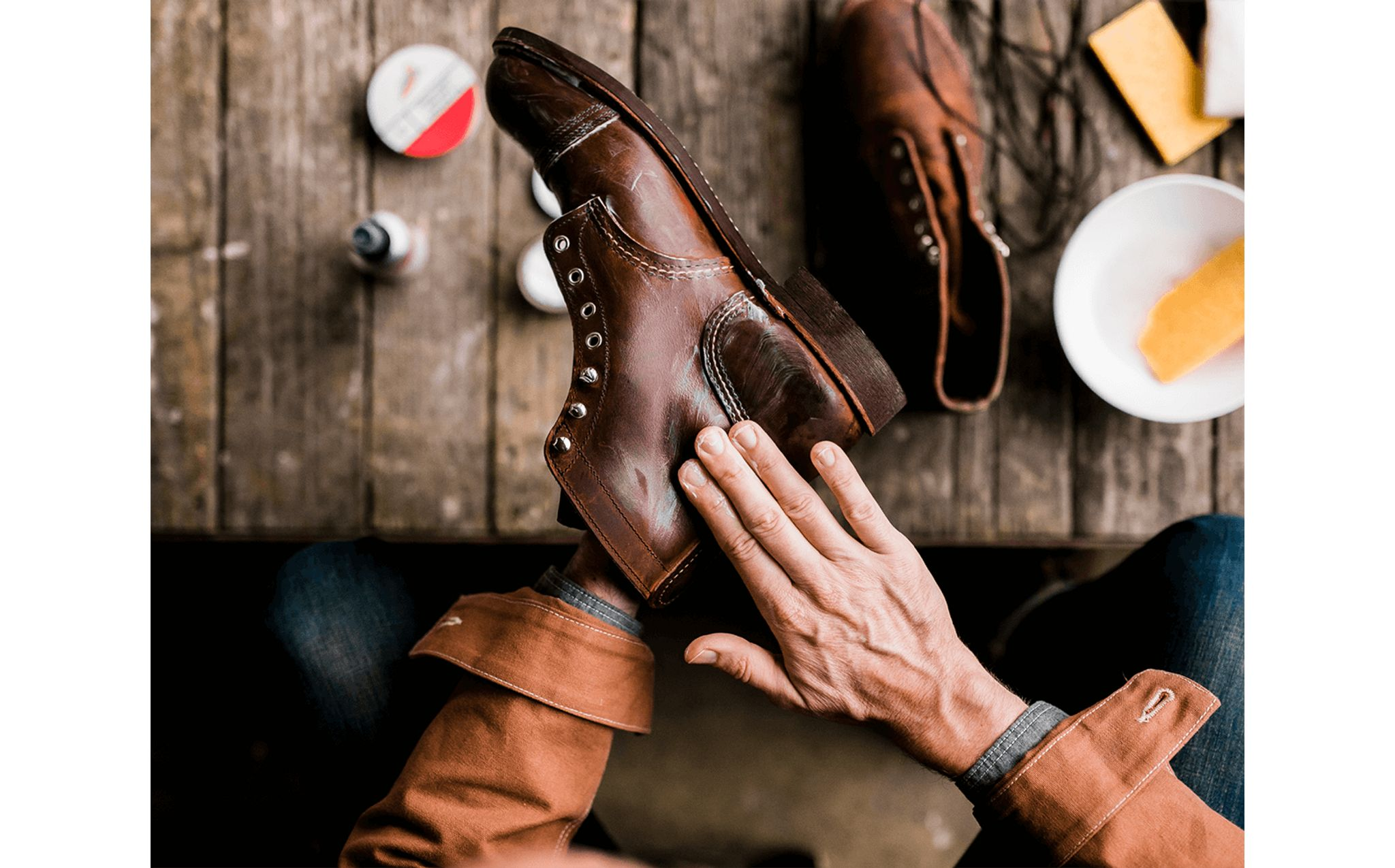 View shoe care products
