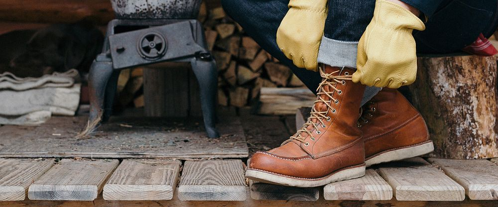 Mens 8 Inch Classic Moc Gallery Image 3