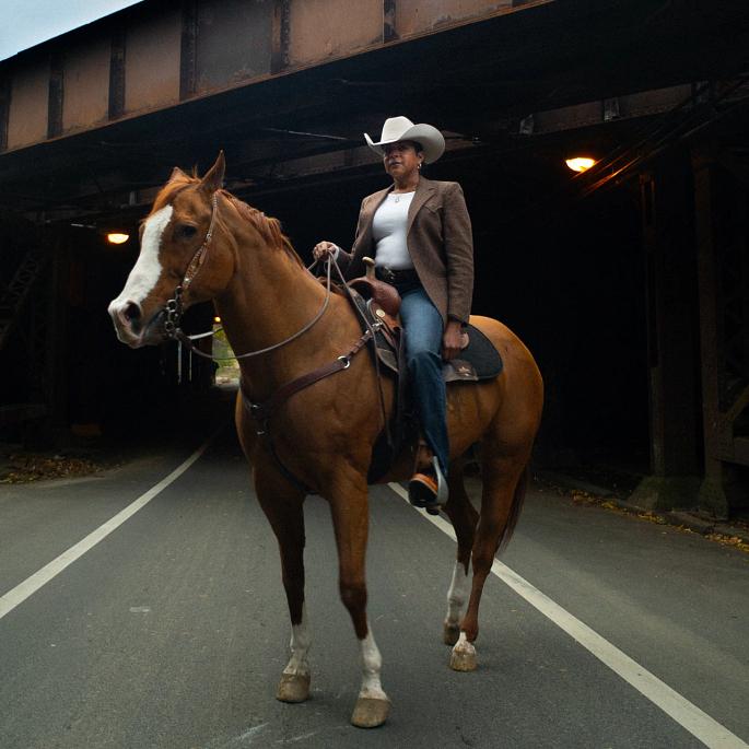 Concrete Cowgirl, Philadelphia, U.S.A.
