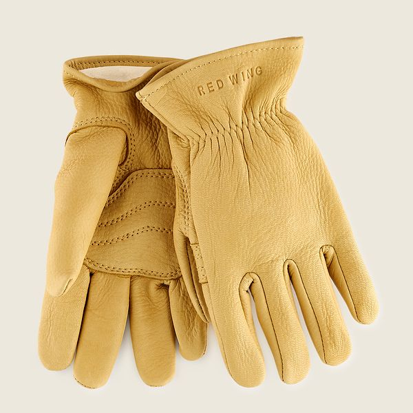 Lined Buckskin Leather Glove