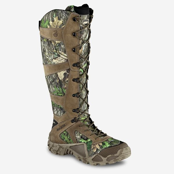 49f8affd516da Men's Vaprtrek™ 17-inch Waterproof Leather Mossy Oak® Camo Snake ...