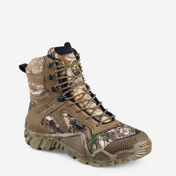 brand new 2b320 31178 Men s 8-inch Waterproof Leather 400g Insulated Realtree® Camo ...