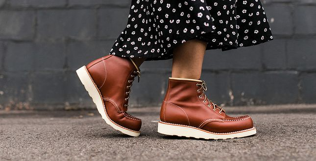 Red Wing Female Boots