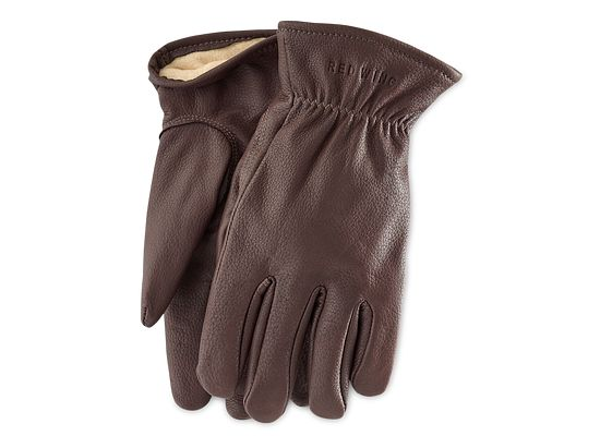 Lined Buckskin Leather Glove product photo