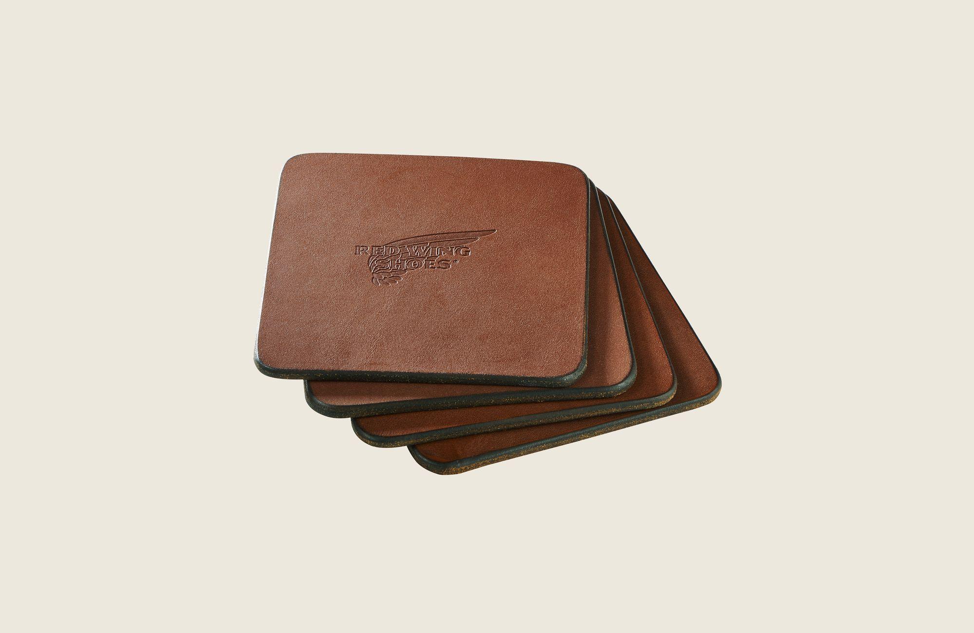 Pioneer Leather Coasters image number 0