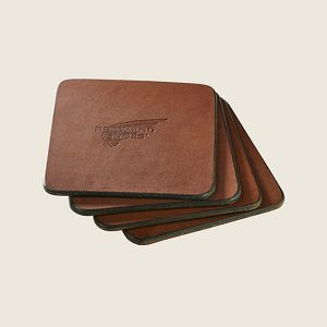 Pioneer Leather Coasters