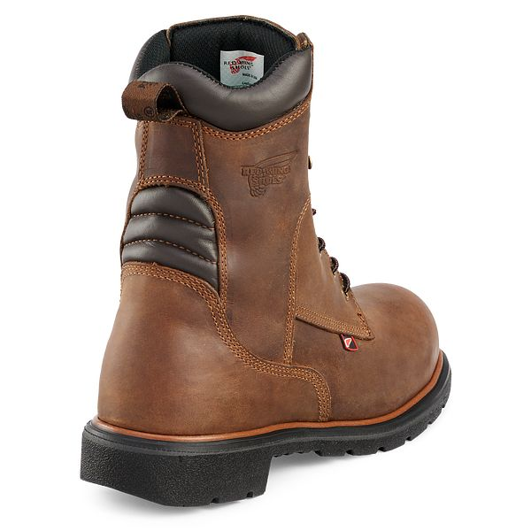 """Men/'s Red Wing #2203 8/"""" Leather Steel Toe Work Boot 169."""