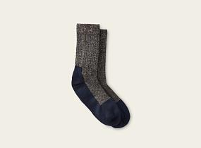 Black Deep Toe Capped Wool Sock product photo