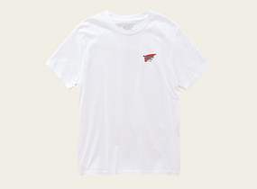 White T-Shirt with Logo product photo