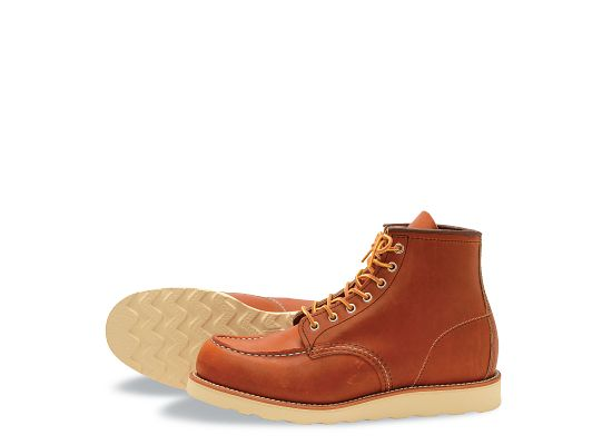 men s 875 classic moc 6 boot red wing heritage