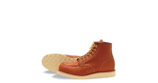 6 Brown 875 Sixinchboots