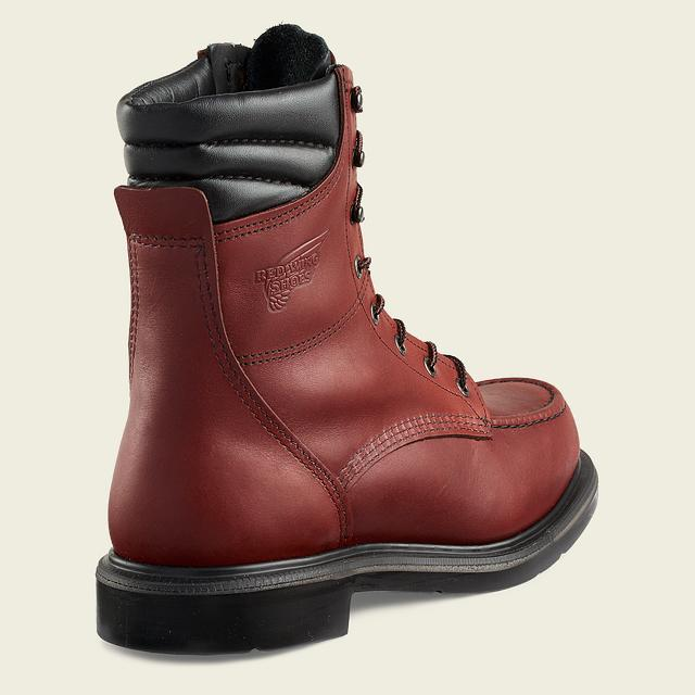 e7ca0e2846f Men's 402 Electrical Hazard SuperSole<sup>®</sup> 8-inch Boot | Red ...