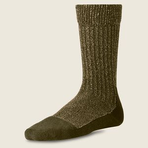 Deep Toe Capped Wool Sock