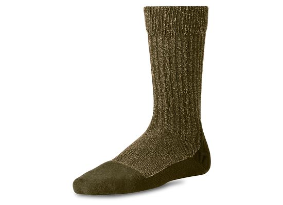 Olive Deep Toe Capped Wool Sock product photo