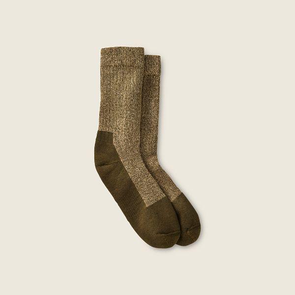 Deep Toe Capped Wool Sock