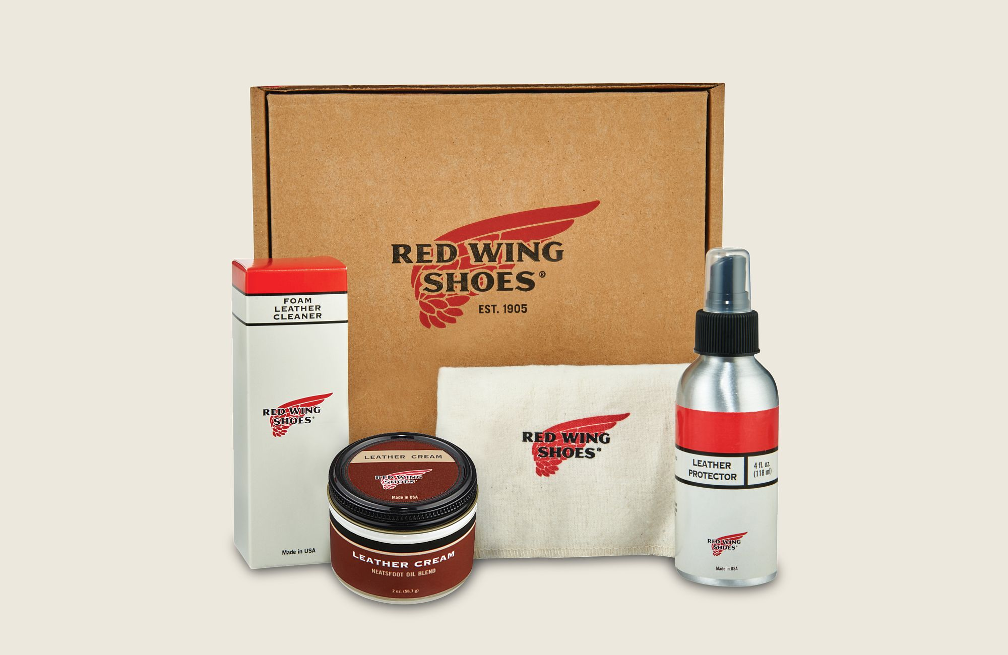 Smooth-Finished Leather Product Care Kit image number 0