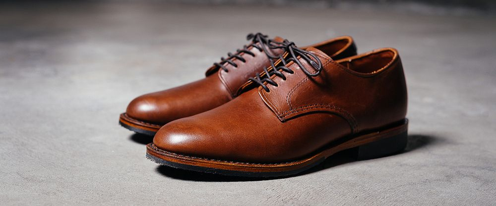Men's Williston Oxford in Black Leather 9431   Red Wing