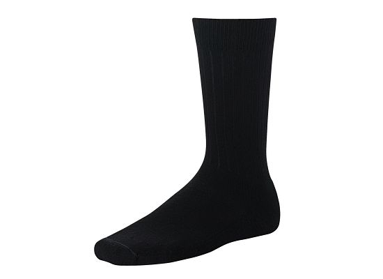 Black Classic Rib Sock product photo