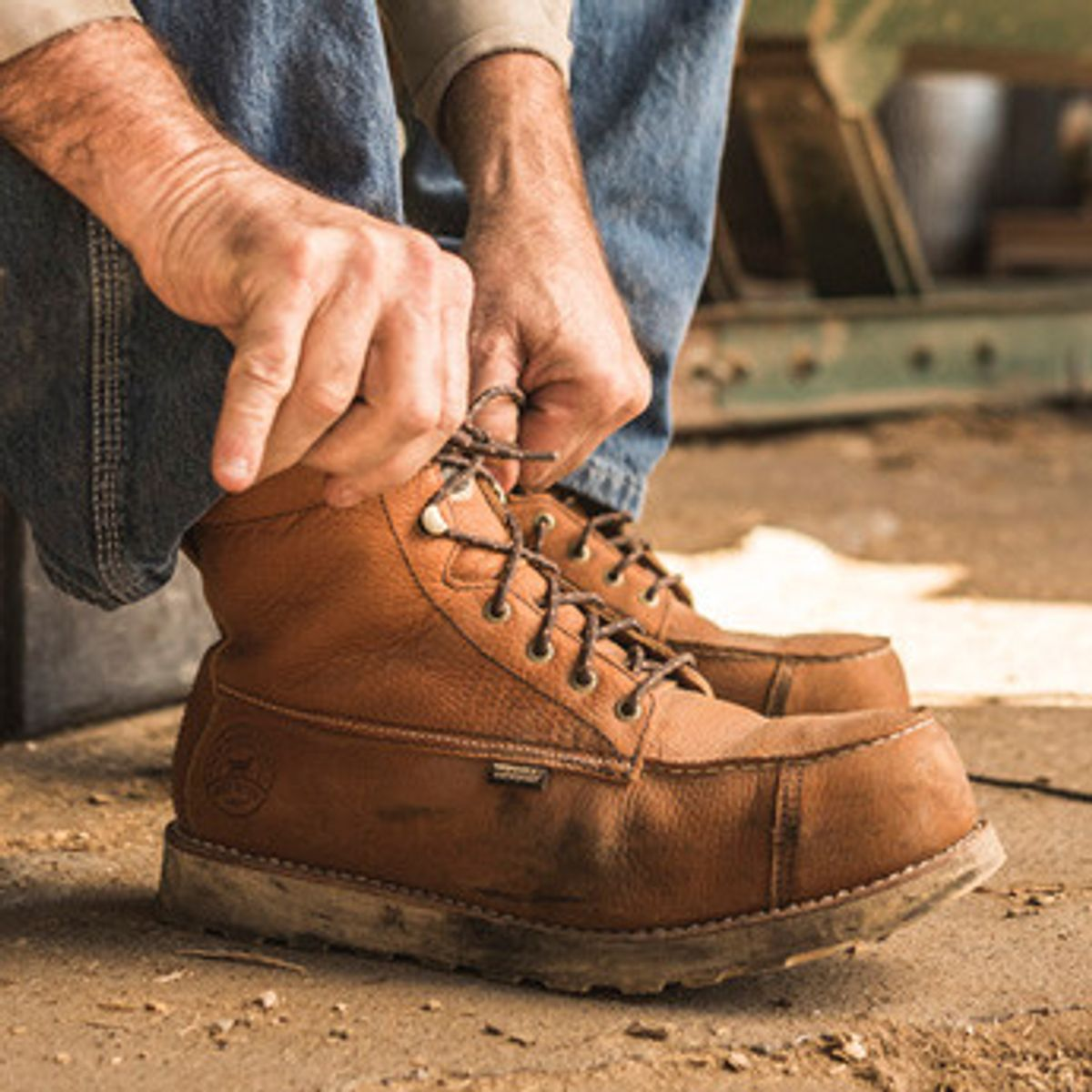 A Work Boot<br />Work Horse