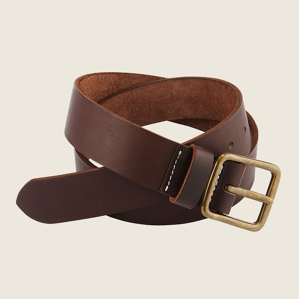 Red Wing Leather Belt