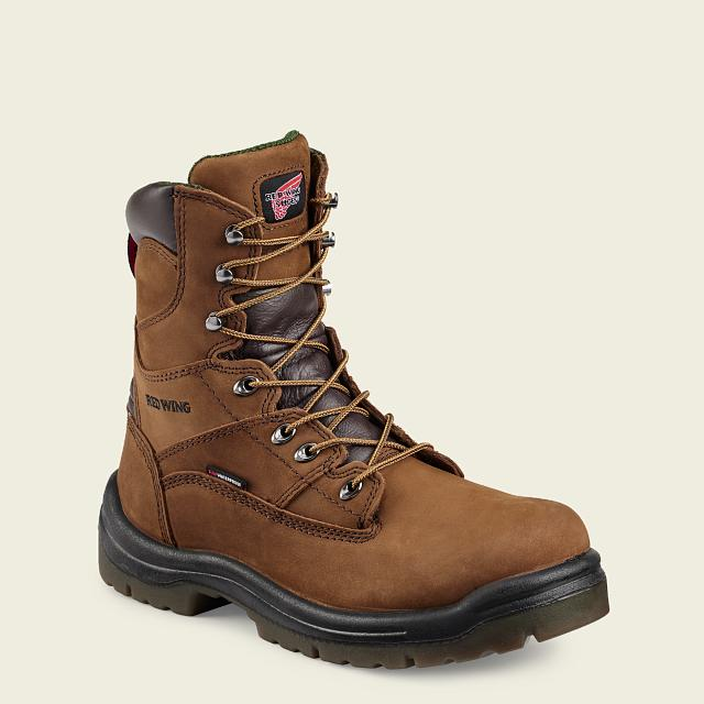 aed07b174 Men's 1447 Electrical Hazard Waterproof King Toe<sup>®</sup> 8-inch Boot | Red  Wing Work Boots