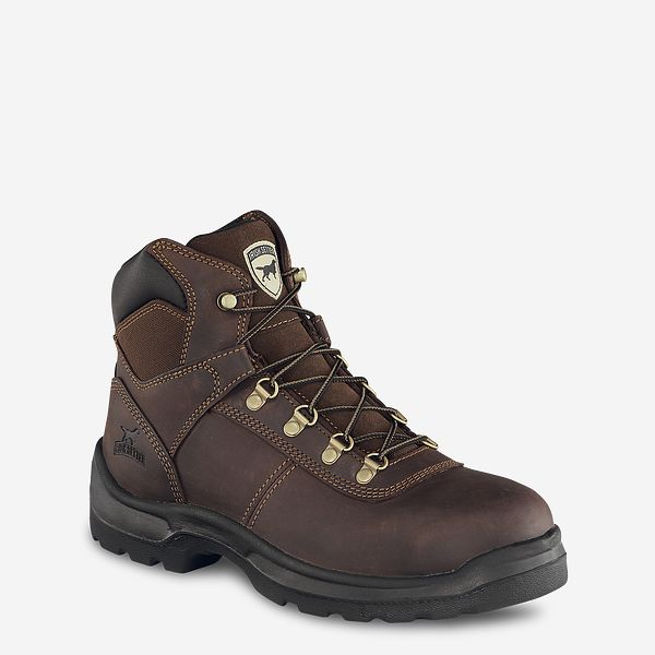 Men s Ely 6-inch Leather Steel Toe Work Boot 83608  029e5fd1e9fa