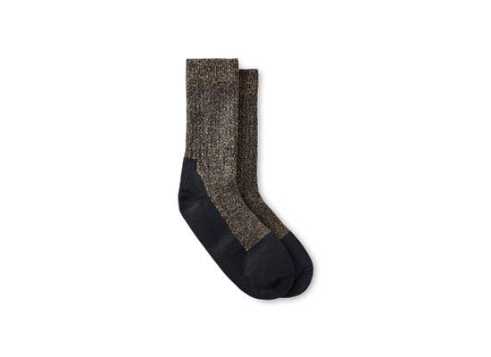Navy Deep Toe Capped Wool Sock product photo