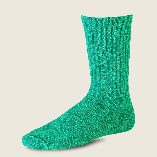 Cotton Ragg Over Dyed Tonal Sock