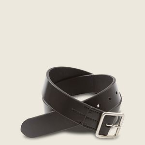 Vegetable-Tanned Leather Belt