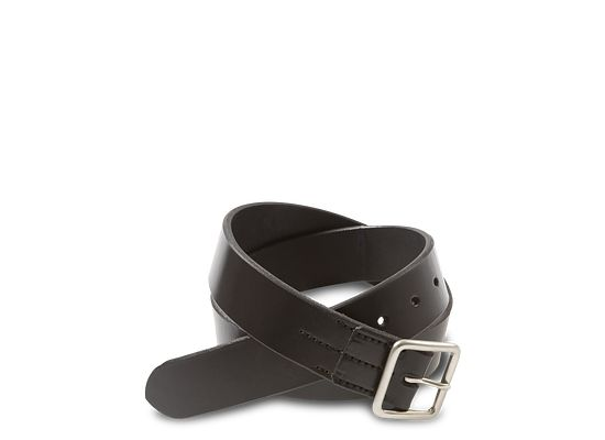 735edc88 Black Vegetable Tanned Leather Belt 96564 | Red Wing Heritage