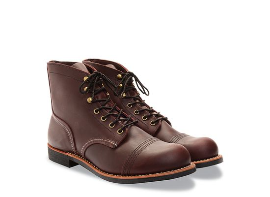 8df1bff73 Men's Iron Ranger 6-Inch Boot in Dark Brown Leather 8119 | Red Wing ...