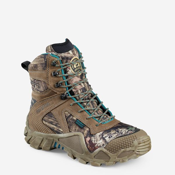 748ac943f404 Women s Vaprtrek™ 8-inch Waterproof Leather Mossy Oak® Camo ...