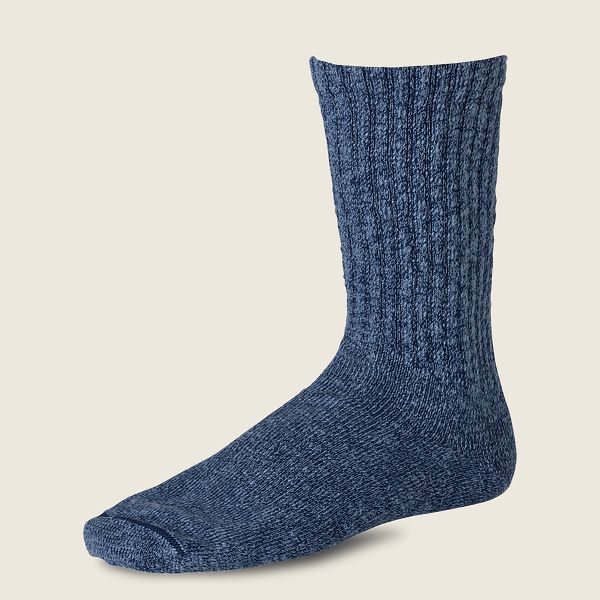 Cotton Ragg Over Dyed Tonal Sock Product image - view 1
