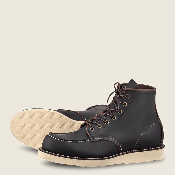 Red Wing Black Boots