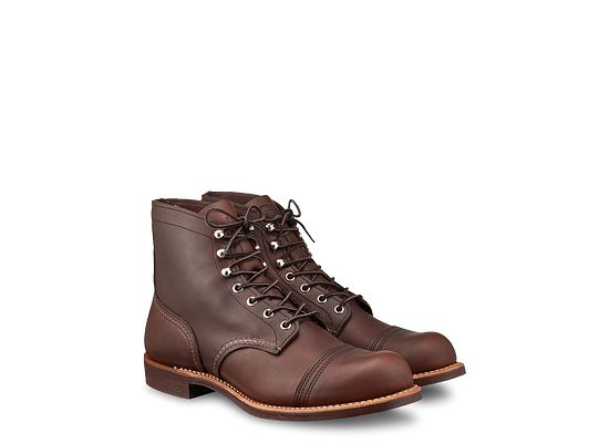 Mens 8111 Iron Ranger 6 Boot Red Wing Heritage Europe