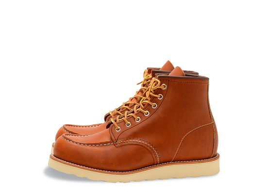 8eb717dee919c Men's Classic Moc 6-Inch Boot in Brown Leather 875 | Red Wing Heritage